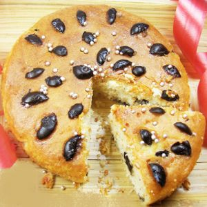Gifts-blueberry Cake