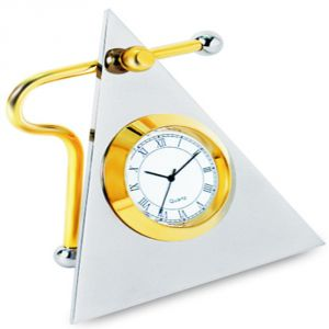 Desktop Clocks - Triangle Clock Btc - 116