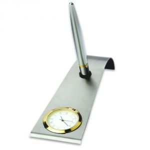 Valentine Gifts - Pen Holder Cum Clock Btc- 320