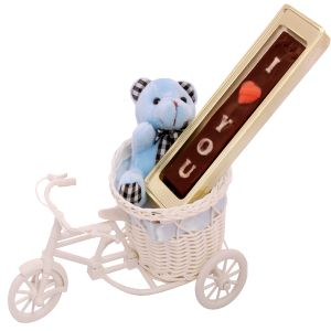 Chocolates-teddy Carrying Your Special Message