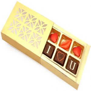 Chocolate-golden 6 PCs Special Chocolates