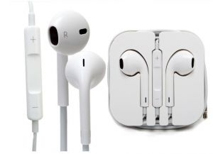 Apple iPhone Handsfree - Buy 1 Get 1 Stereo Headset Earphone With Mic For Apple iPhone