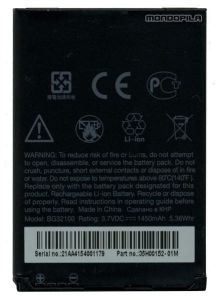 Htc Desire S Li Ion Polymer Replacement Battery Bg32100 By Snaptic