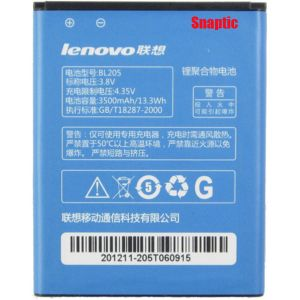 Lenovo P770 Li Ion Polymer Replacement Battery Bl-205 By Snaptic