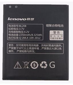 Lenovo A750 A590 Li Ion Polymer Replacement Battery Bl-208 By Snaptic