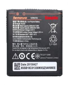 Panasonic,Motorola,Jvc,H & A,Snaptic,Sony,Micromax Mobile Phones, Tablets - Lenovo A2010/Lenovo A1000 Li Ion Polymer Replacement Battery BL-253 by Snaptic
