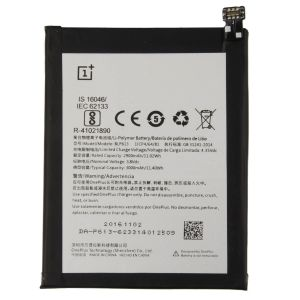 Sandisk,Snaptic Mobile Phones, Tablets - Oneplus 3 Li Ion Polymer Replacement Battery BLP-607 by Snaptic