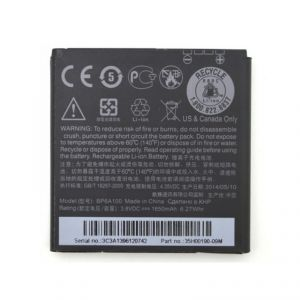 Htc Desire 300 Li Ion Polymer Replacement Battery Bp6a100 By Snaptic