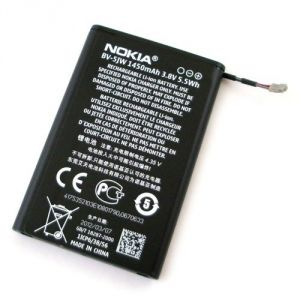 Nokia Lumia 800 Li Ion Polymer Replacement Battery Bv-5jw By Snaptic