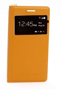 Koloredge Mobile Phones, Tablets - Koloredge S View Flip Cover For Samsung Galaxy Grand 2 G7102 - Yellow