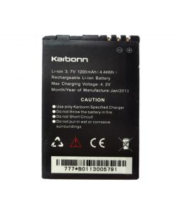 Apple,Amzer,Vox,Snaptic,Sony Mobile Phones, Tablets - Karbonn Titanium S7 Li Ion Polymer Replacement Battery by Snaptic