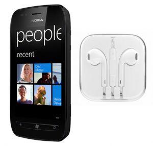 Nokia Handsfree - Hi Definition Stereo Earphones with Mic for Nokia Lumia 710