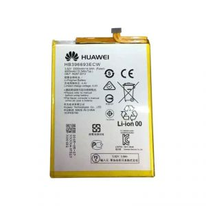 Battery for mobile - Huawei Ascend Mate 8 Li Ion Polymer Internal Replacement Battery HB396693ECW by Snaptic