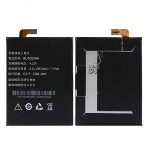 Panasonic,Quantum,Vox,Snaptic Mobile Phones, Tablets - Gionee Elife E5 Li Ion Polymer Replacement Battery by Snaptic
