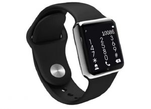Mobile Phones, Tablets - General Aux G7 Smart Wrist Watch Touch Screen With Sim Card Slot(black, Silver)