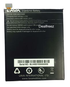 72e9ca9ecdf Lava Mobile Battery  Buy lava mobile battery Online at Best Price in ...