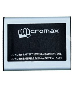 Panasonic,G,Vox,Snaptic,Zen Mobile Phones, Tablets - Micromax Bolt A75 Li Ion Polymer Replacement Battery by Snaptic