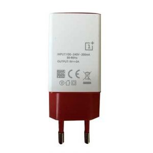 Chargers - Akcess 2a Charger For Oneplus Two - Red & White