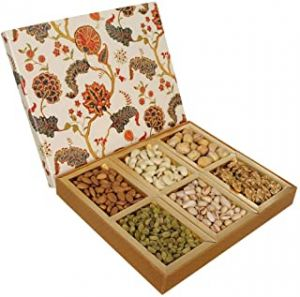 Nuts Wave Premium Dry Fruits 600 Grams Gift Box - ( Code - Made05 )