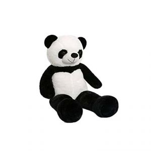 Black & White Lovebug Cute Bootsy Panda 3 Feet Teddy Bear - ( Code - Mntd05 )