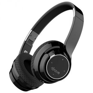 Mee Wave Bluetooth Wireless Headphones(black)