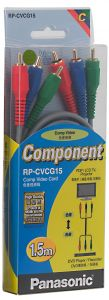Panasonic Video Cable Component Rgb, 1.5m ,rp_cvcg15gk