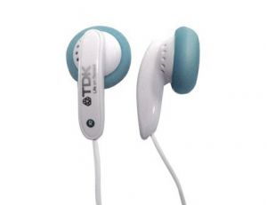 Tdk E-120pk In-ear Headphones (blue)