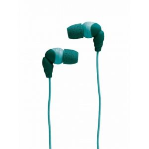 Memorex 98617 In-ear Headphones Eb110 With Comply Foam Tips (blue)