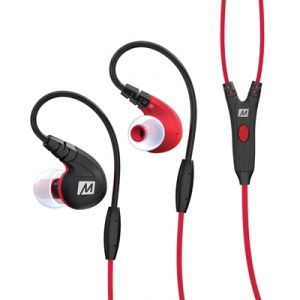 Mobile Handsfree (Misc) - MEE M7P Secure-Fit Sports In-Ear Headphone with Mic,Remote,Universal Volume