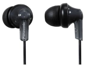 Apple iPhone Handsfree - Panasonic Earphone Earphone with Mic   iPod Controller,RP_HJC120E_K