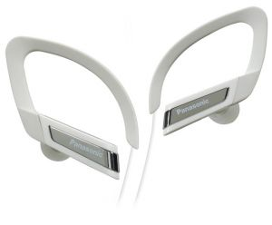 Mobile Handsfree (Misc) - Panasonic  Headphone with Mic   iPod Controller , RP_HSC200E_W
