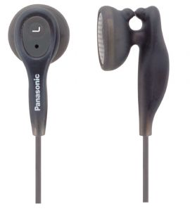 Panasonic Ear Candy Earphone For iPod / MP3 Player ,rp-hv21e-k
