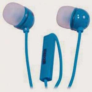 Maxell In Ear With Mic,ie-mic Blue