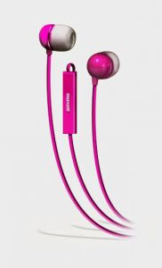 Maxell - Ie-mic In Ear Earphones With Mic, Pink