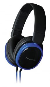 Panasonic Overear Headphone Rp-hx250e-a(blue) With Acero Stand