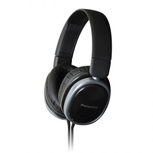 Panasonic Overear Headphone Rp-hx250me-k(black) With Acero Stand