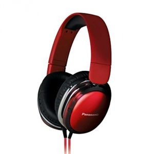 Panasonic Mobile Phones, Tablets - Panasonic OverEar Headphone RP-HX350ME-R(Red) with Acero Stand