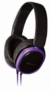 Panasonic Overear Headphone Rp-hx250e-v(violet) With Acero Stand