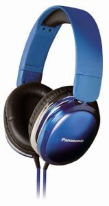 Panasonic Overear Headphone Rp-hx350e-a(blue) With Acero Stand