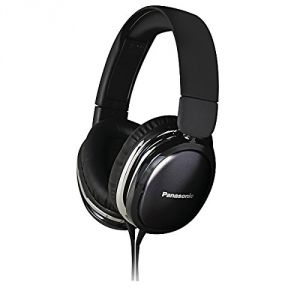 Panasonic Overear Headphone Rp-hx350me-k(black) With Acero Stand