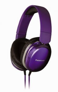 Panasonic Overear Headphone Rp-hx350e-v(violet) With Acero Stand