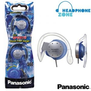 Panasonic Sports Gym Headphone For iPod / MP3 Player Rp-hs11e-s