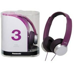Panasonic Stylish Headphone With Powerful Sound,rp_hxd3e_v
