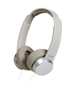 Panasonic Rp-hxd3we-w Over Ear Headphones With Mic (white)