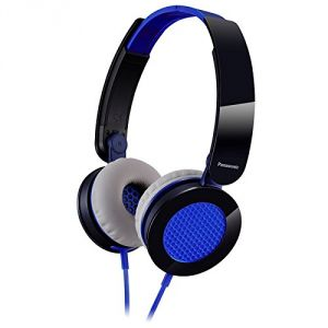 Panasonic Rphxs200ea On Ear Street Headphones - Blue