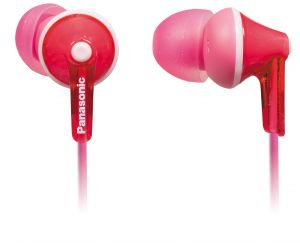Panasonic Mobile Handsfree (Misc) - Panasonic In-Ear Earphone with Mic  RP-TCM125E-P