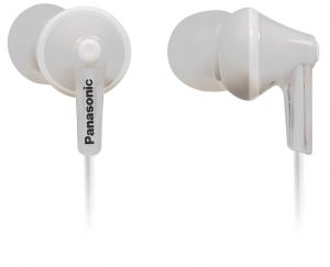 Panasonic In-ear Earphone With Mic Rp-tcm125e-w