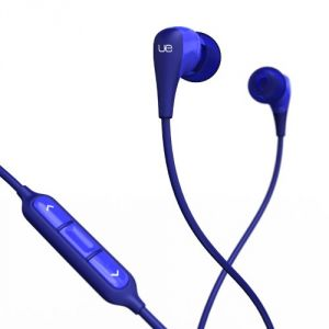 Logitech Ultimate Ears 200vi Noise-isolating Headset, Blue