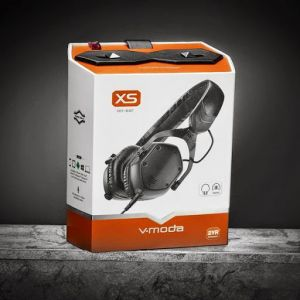 V-moda Xs On-ear Folding Design Noise-isolating Metal Headphone , Black