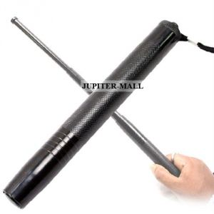 Travel organisers - Security Self Defense System Telescopic Iron Baton Folding Stick -01